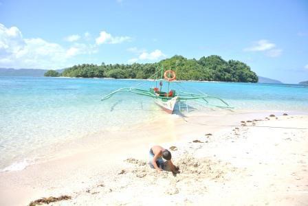 CP beach boat