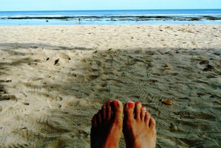 CP beach feet