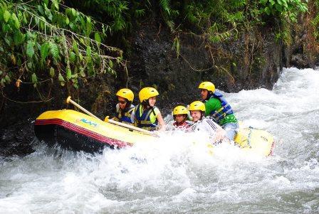 CP raft sinking