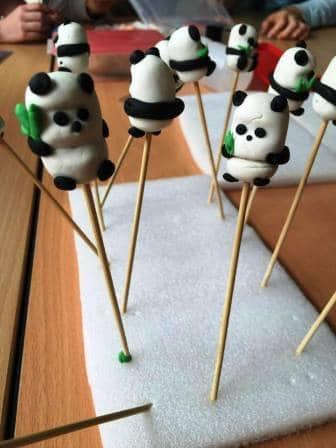 Clay panda