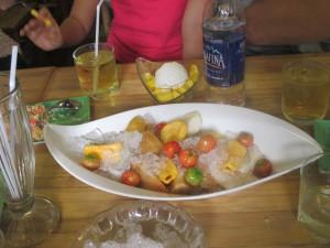HCMC BOB fruit dessert