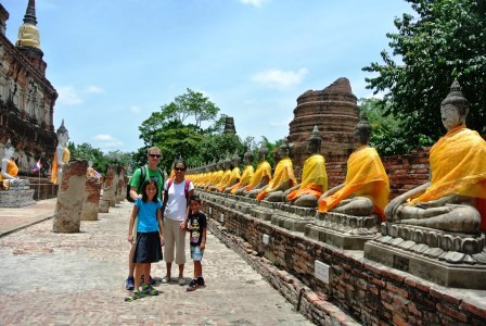 bangkok autthaya buddhas