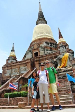 bangkok autthaya temple