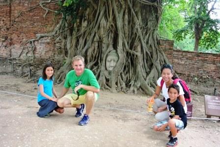 bangkok buddha tree