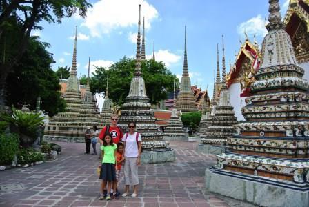 bangkok stupas